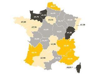 Palmares-des-regions-les-plus-heureuses-avec-une-note-sur-100-ressource-ppale-irb-france-2013