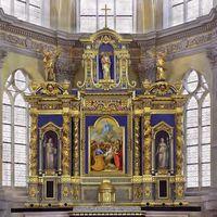 Chapelle retable